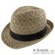 A-Surpriz 氣質優雅風格中折帽(品味