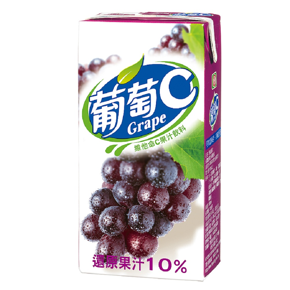 黑松 葡萄C(300mlx24入)