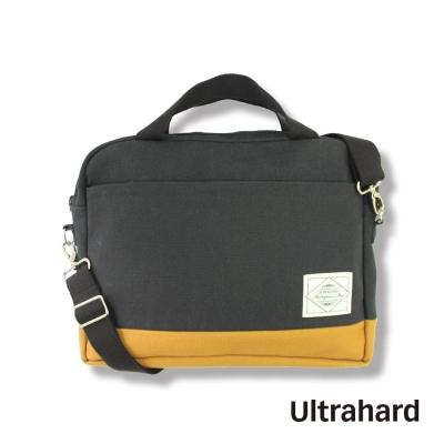 Ultrahard 15吋筆電事務包- Masterpiece Map 黑黃撞色