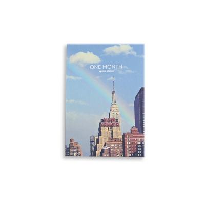 Second Mansion 單月目標週計劃本-07 紐約