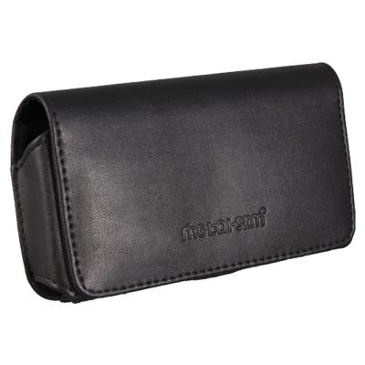 Metal-Slim Apple I phone 4 PU材質 腰掛皮套