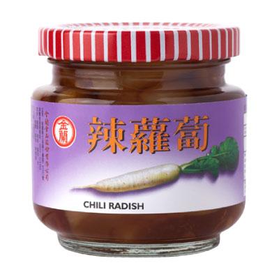 《金蘭》辣蘿蔔 (180g X 12入)