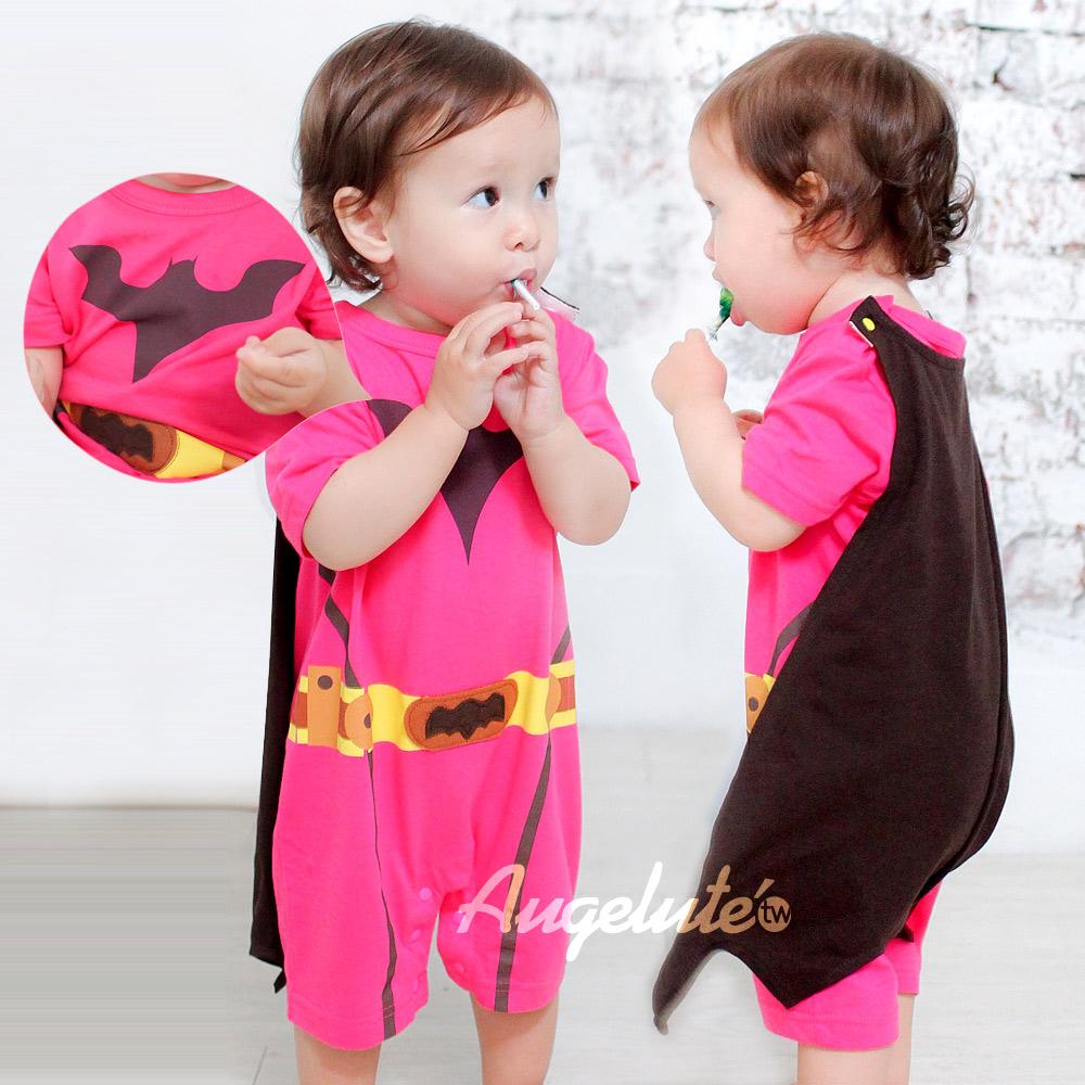 baby童衣 女生蝙蝠俠連身服爬服 32003