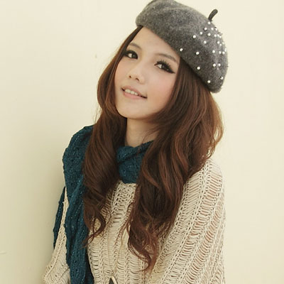【I-shi】暖呼呼~毛織鏤空厚款圍巾(藍綠)
