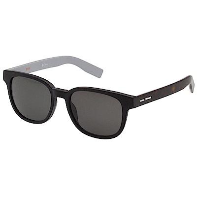 BOSS 太陽眼鏡 (黑框+琥珀腳)BO 0193 S