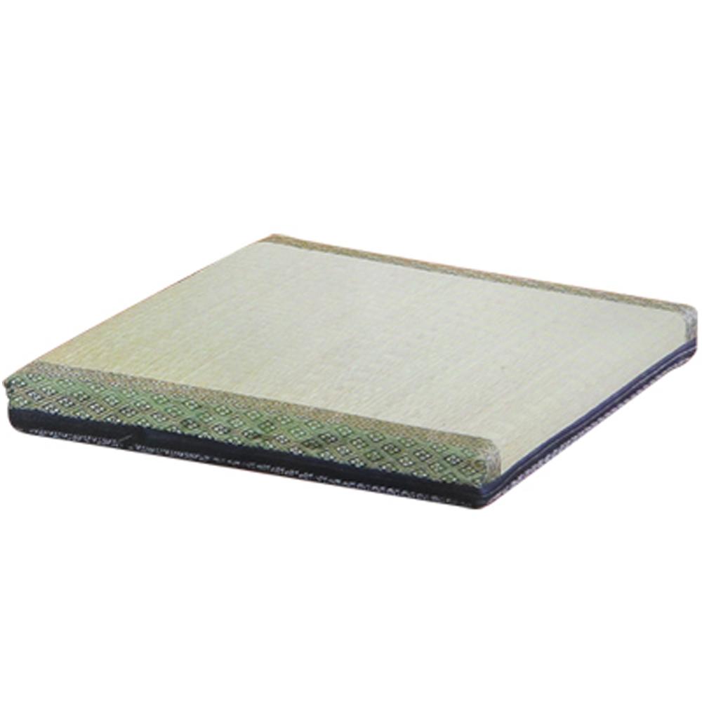 《星辰》日式藺草立體方形坐墊(2入)