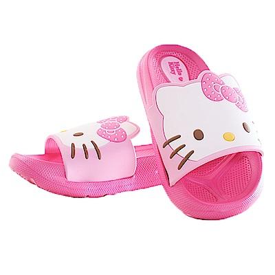 Hello Kitty休閒拖鞋 桃 sk0224 魔法Baby