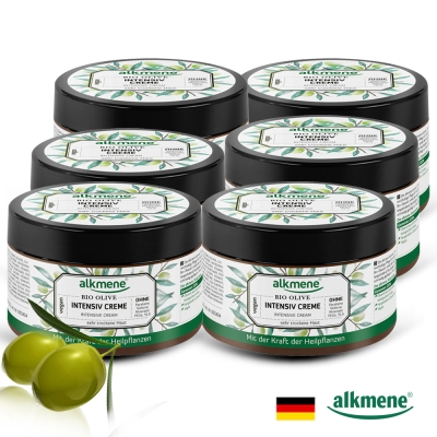 德國alkmene 草本耀典橄欖加護乳霜250ml買五送一