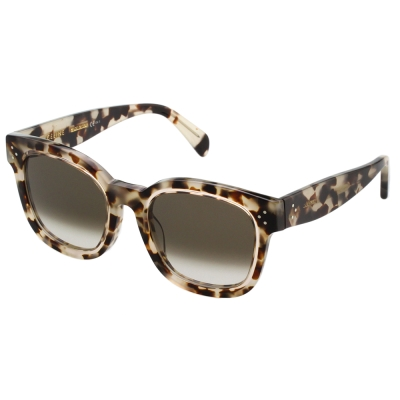 CELINE-個性方框 太陽眼鏡 (豹紋色)CL41414