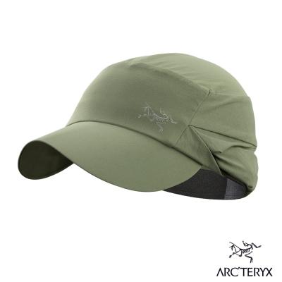 Arcteryx 始祖鳥 24系列 抗UV 快乾護頸遮陽帽 樹綠