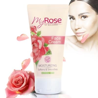 保加利亞My rose玫瑰保濕亮澤面霜條狀50ml