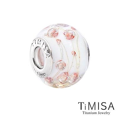 TiMISA 泡沫(11mm)純鈦琉璃 墜飾串珠