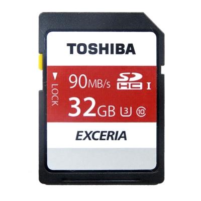 TOSHIBA 32GB UHS-I SDHC/SDXC 90MB高速傳輸記憶卡