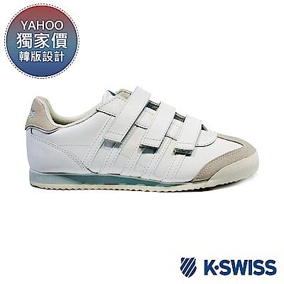 K-swiss Hoke Eva Vel休閒運動鞋-女-白/水藍