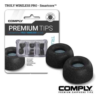 Comply Truly Wireless Pro 真無線科技泡綿耳塞(3-pair)