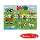 美國瑪莉莎 Melissa & Doug 聲音拼圖 -  英文童謠 , 王老先生的農場