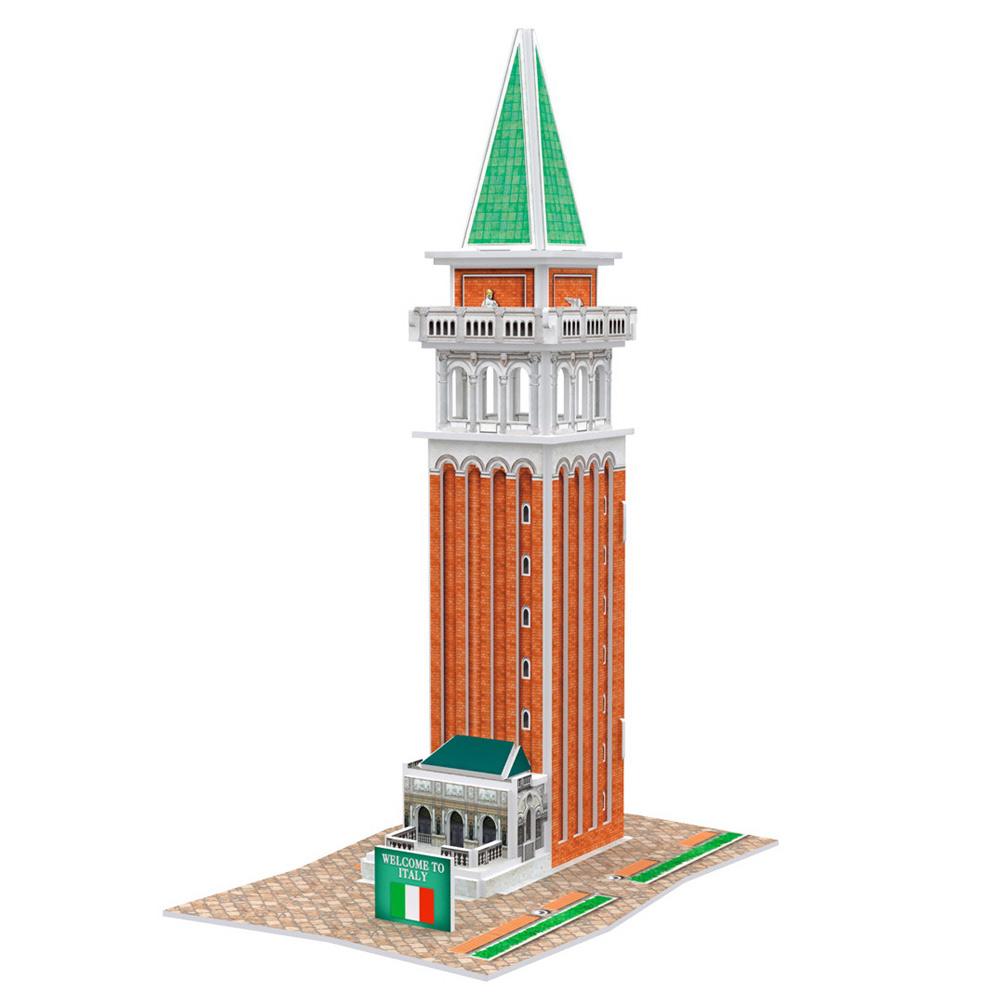 世界之窗 3D立體拼圖 《義大利》聖馬可鐘樓 3D World Style