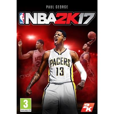 NBA 2K17 - PC  亞版 中文版(拆封無鑑賞期)
