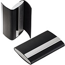 PHILIPPI Giorgio雙層橫名片盒(黑)
