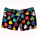 WAXX 玩具黃色小鴨聯名限量款高質感吸濕排汗女性海灘褲