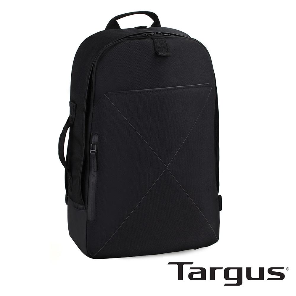 Targus T-1211 都會雅痞 15.6 吋兩用手提後背包-都會黑