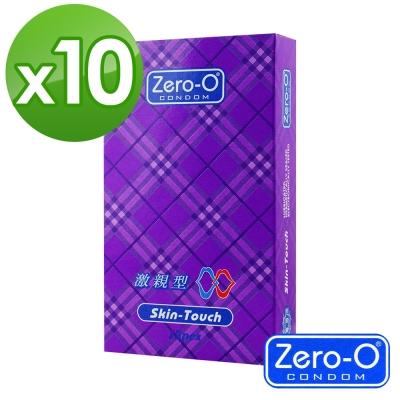 ZERO-O 零零激親型保險套 12入裝x10盒