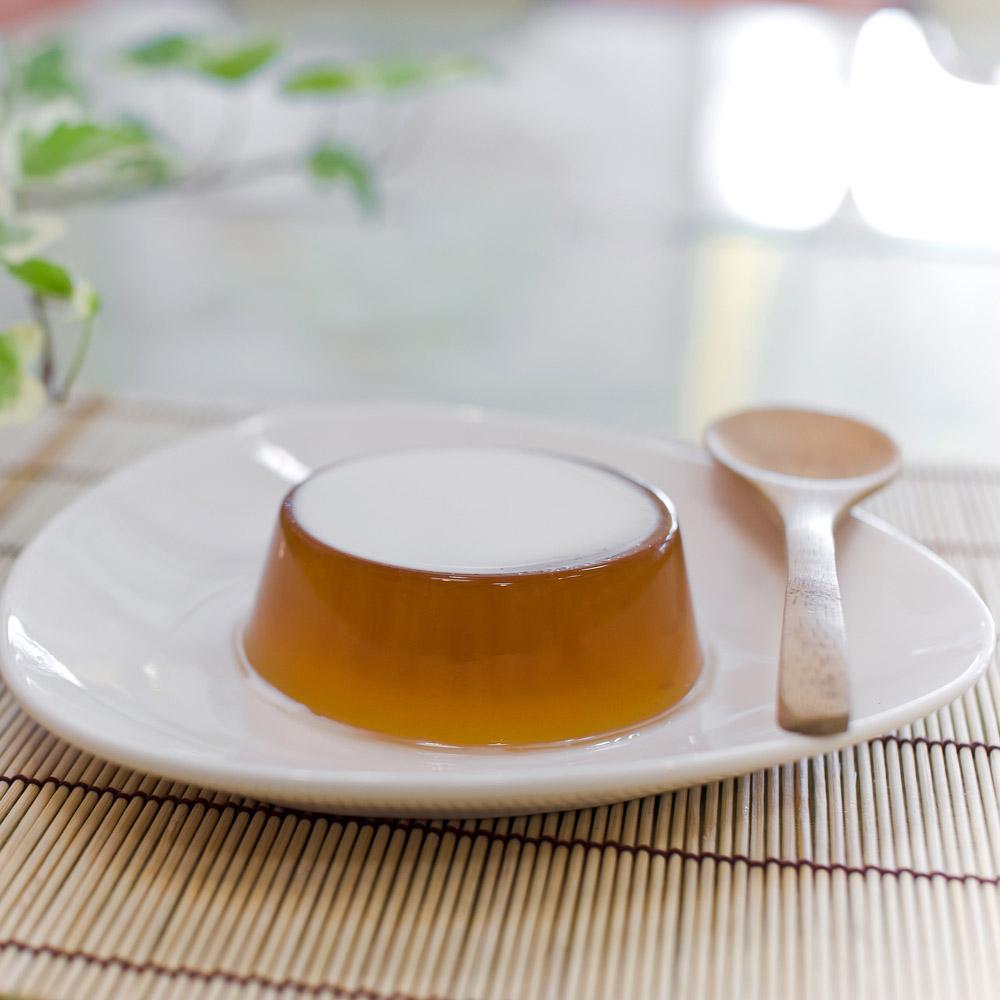 福品創意手工鮮奶酪 茉綠茶香凍 8入