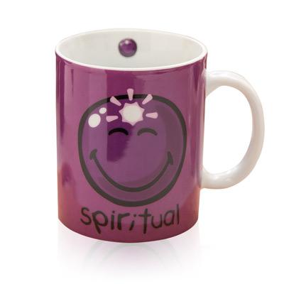 INCIDENCE-紫色微笑馬克杯