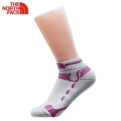 The North Face北面灰紫色舒適透氣戶外休閒襪子