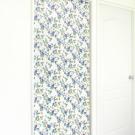 布安於室-花開富貴遮光風水簾-藍花
