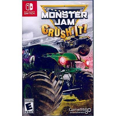 怪物卡車 粉碎 Monster Jam: Crush It- NS Switch 英文美版