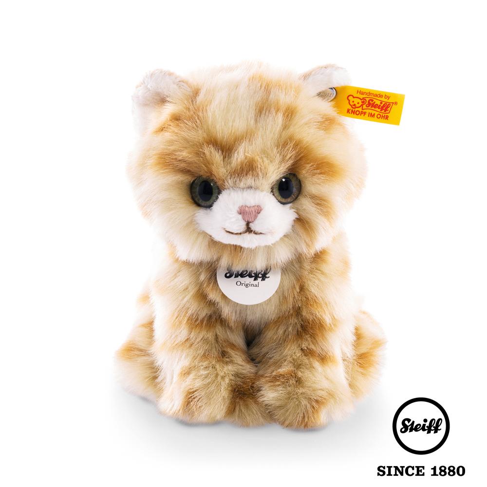 STEIFF德國金耳釦泰迪熊 小貓 Lizzy Kitten (動物王國)