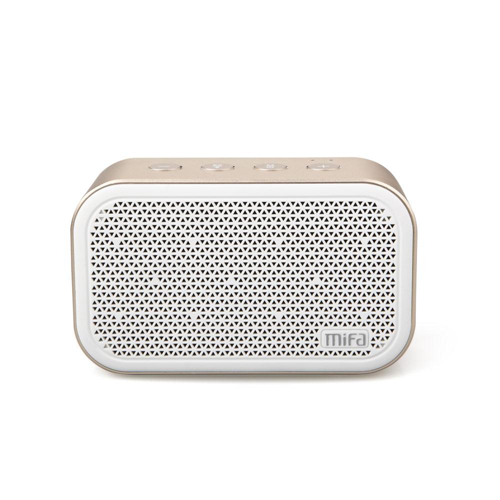 MiFa M1無線藍牙立體聲喇叭-晶瑩白