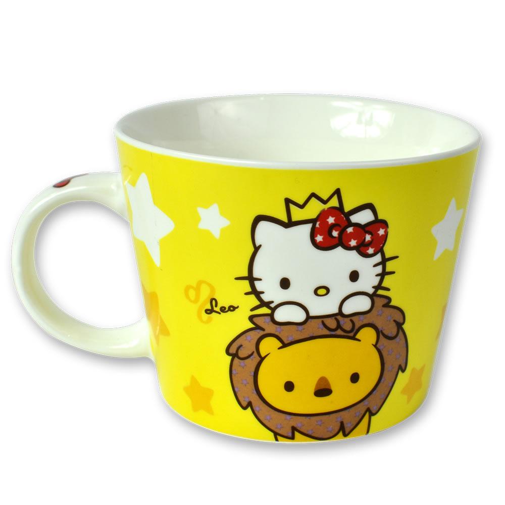 三麗鷗Hello Kitty星座馬克杯-獅子座