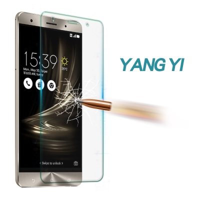 YANGYI揚邑 ASUS Zenfone 3 Deluxe/5.7吋防爆抗刮9H鋼化玻璃