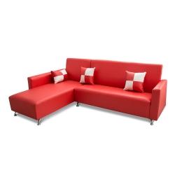 日安家居-Murray默內MIT美型L型沙發(台灣製)四色