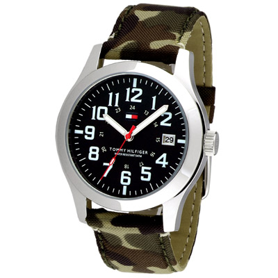 TOMMY HILFIGER 軍事主義個性時尚套錶