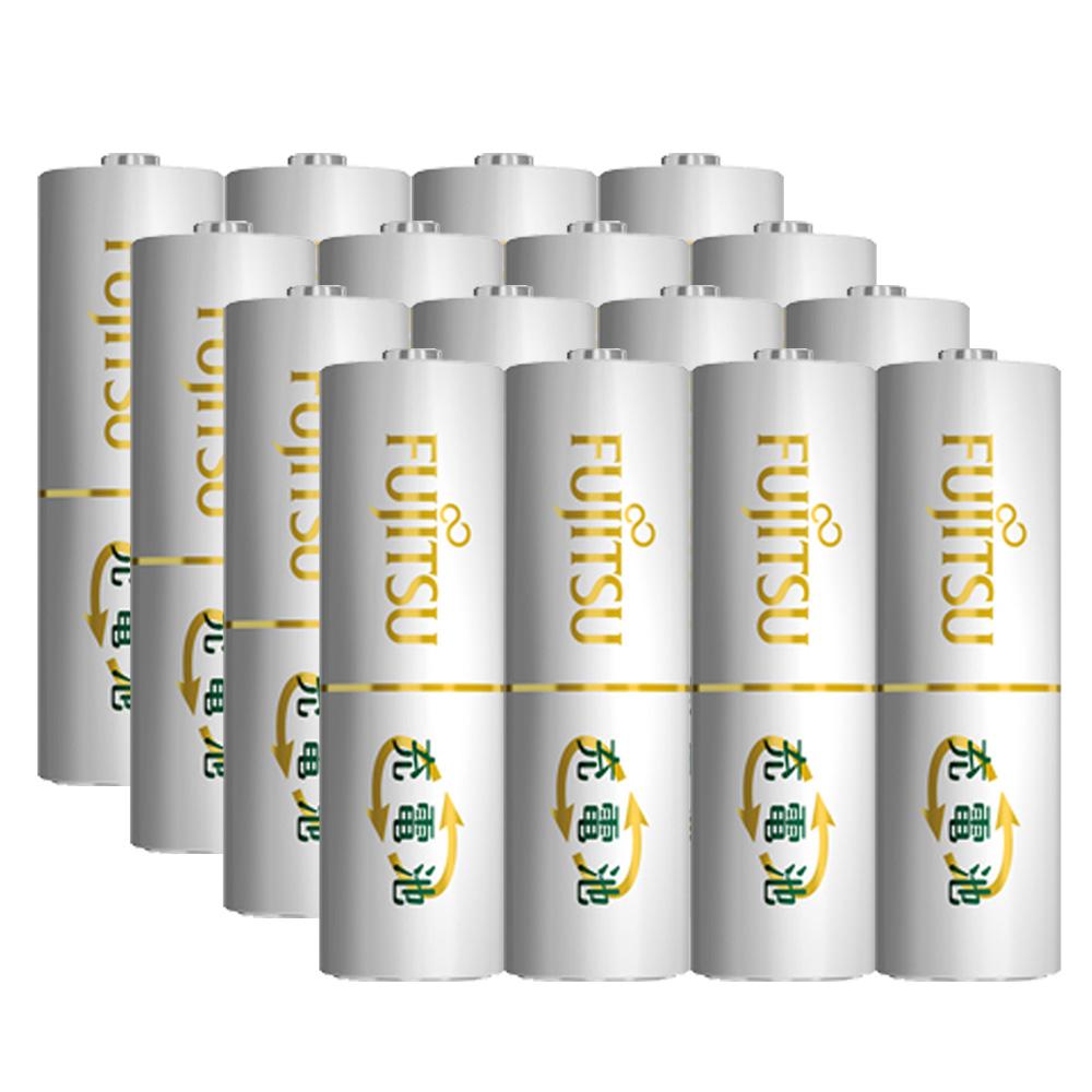 日本Fujitsu富士通低自放電充電電池組(內附3號8入+4號8入)