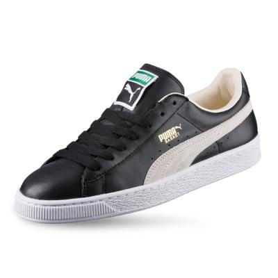 PUMA-Basket Classic 男女復古籃球運動鞋-黑色