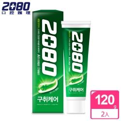 韓國2080 高階去味牙膏120gX2入