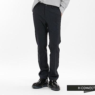 H:CONNECT 韓國品牌 男裝-細緻混色男長褲-深灰