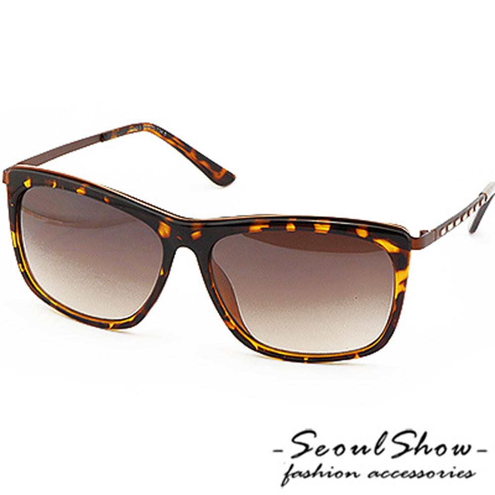 【Seoul Show】羅浮宮奇緣 漸層色調太陽眼鏡 (8412  蜂紋)