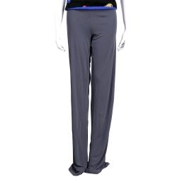 ANNA MOLINAR 灰色素面寬鬆長褲