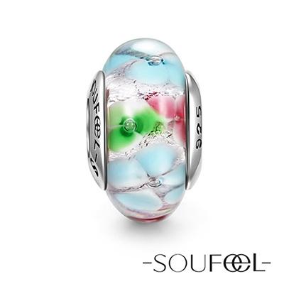 SOUFEEL索菲爾 925純銀珠飾 仙境 琉璃珠