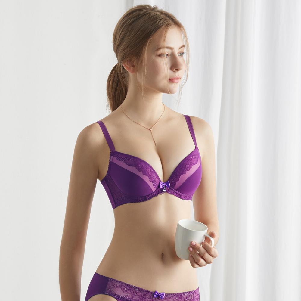 瑪登瑪朵-Soft Up內衣  B-E罩杯(蘭紫)