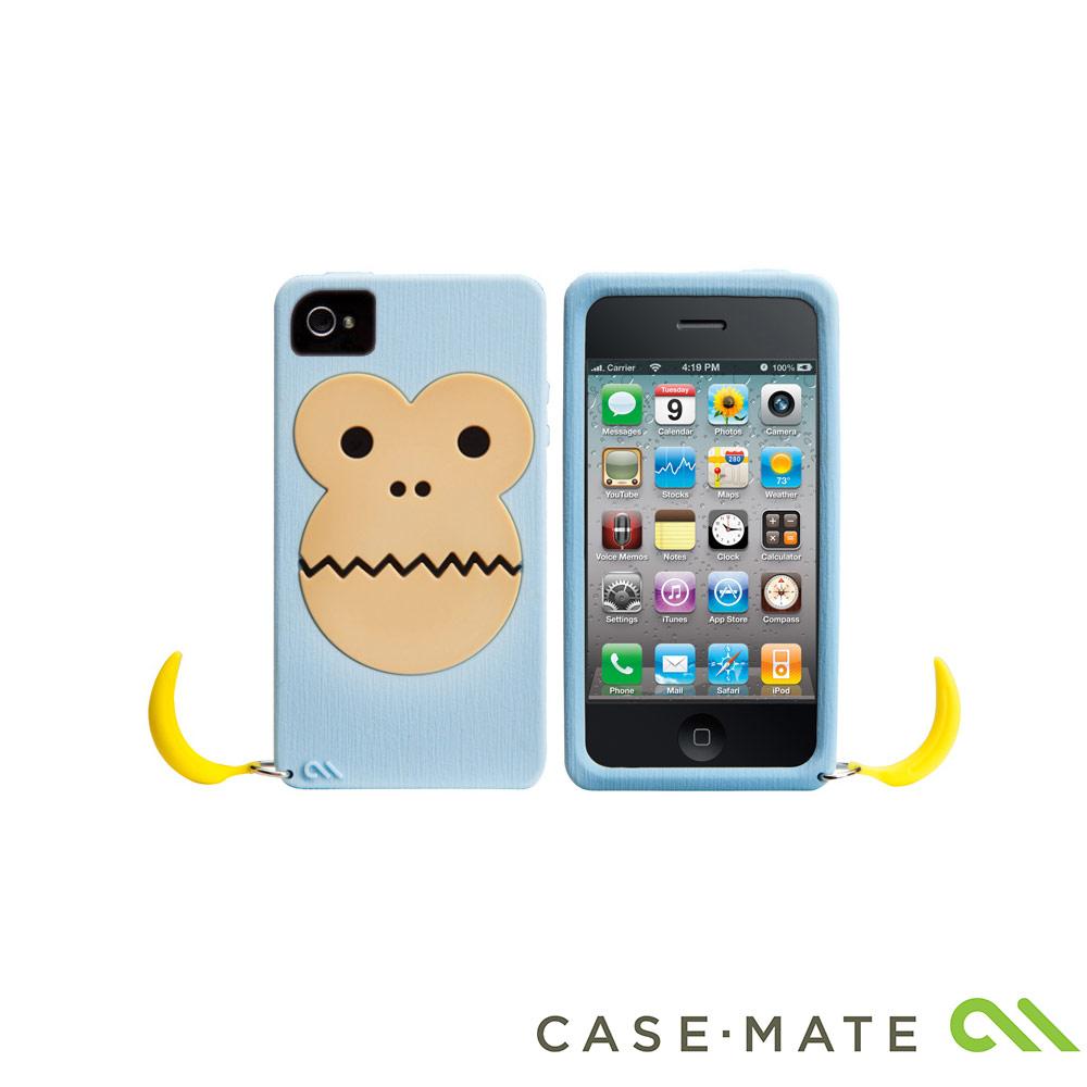 Case-Mate iPhone 4/4S Bubbles Case 香蕉猴矽膠保護套