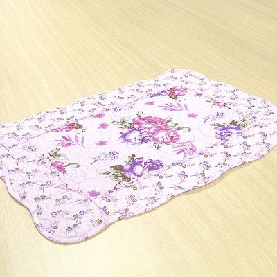 《布安於室》迷情紫拼布踏墊-(2入組)