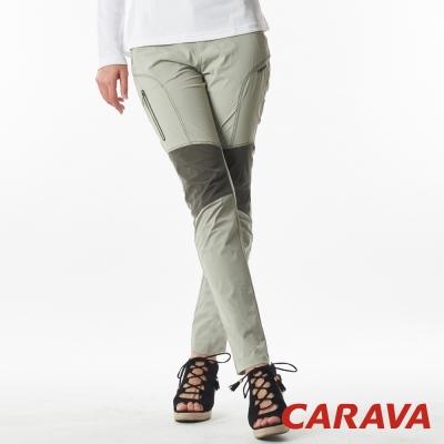 CARAVA《女登山排汗褲涼爽款》(淺駝色)