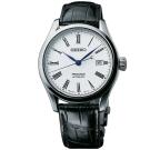 SEIKO精工 Presage Enamel 琺瑯機械錶(SPB047J1)-白/39mm