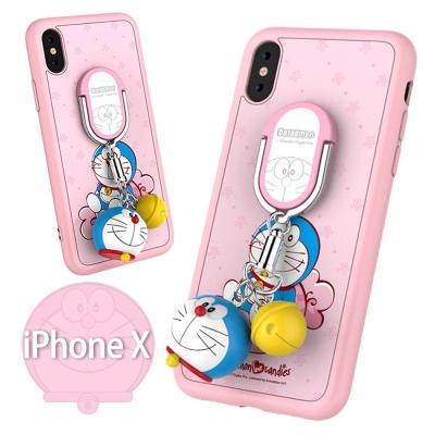 iStyle iPhone X 哆啦A夢限量粉色手機殼